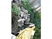 Free broken slabs - must be collected