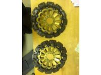 Cbr1100xx Honda Blackbird discs