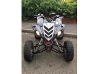 Yamaha raptor 700r, raptor 700, road legal quad
