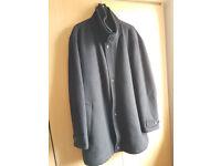 Pierre Cardin men's overcoat/jacket 100% cashmere/wool, size 58inch