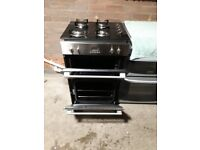 CAPLE Gas hob and double electric fan oven