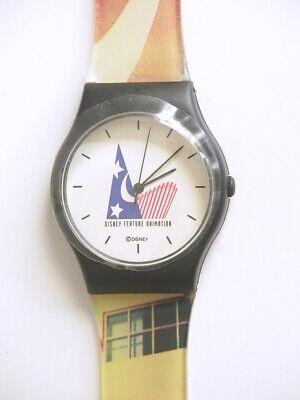 Vintage 90's Disney Feature Animation Analog Quartz Watch LIMITED Ed. Watch