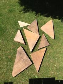 Large selection of various Rare Wood Shelf Blanks £5-18 or Job Lot