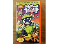 THE RUGRATS MOVIE - CHILDRENS VHS VIDEO!