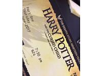 TONIGHT!! Harry Potter and the Cursed Child 2x both performance tickets