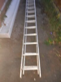 Ladders metal can join together good condition collection only southport area