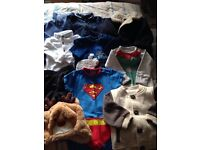 Baby boys small clothes bundle 6-9 months