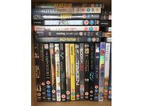 Job Lot DVD's & Blu Rays - almost 80