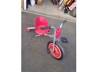 Red flash rider