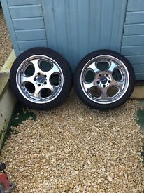 JDM 17Inch Wheels pair of