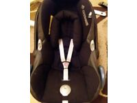 Free Baby seat maxi cosi car seat black