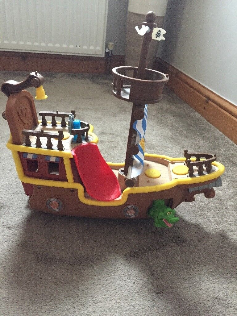 Jake and the NeverLand Pirates - Purate Ship