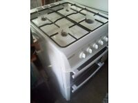 Gas cooker white selling due to moving home excellent condition