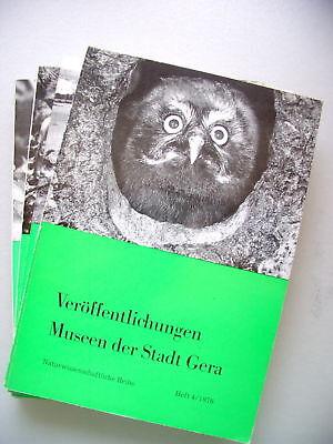 4 Bücher Veröffentlichungen Museen der Stadt Gera