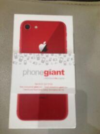 WEEKEND OFFERAPPLE IPHONE8 RED 64GB EE/ VODAFONE/ LEBERA