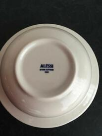 ALESSI LA BELLA TAVOLA PORCELAIN CEREAL, SOUP BOWLS, SET OF 4