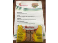 Raptowna Firelighters, Ecological (composed of natural Materials) for Grills, Chimneys,Bonfires,BBQ.