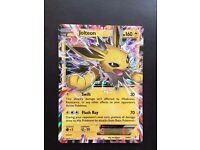 Generations 28/83 Jolteon EX Rare Holo EX Mint Pokemon Card