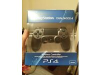 Playstation 4 controller, steel black, brand new