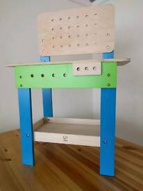 Kids construction workbench