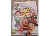 Wii toy story mania! 3D glasses inxluded