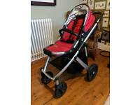 UppaBaby Vista Red 2012 Model