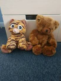 Build a bear workshop teddies x2