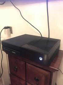 Barely used Xbox One, controller and games