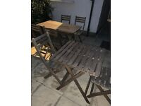 Garden Tables Small & Large w/ Chairs