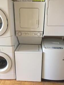 "24"" Whirlpool thin twin spacesaver washer and dryer"