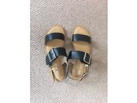 Brand new ASOS leather sandals uk6