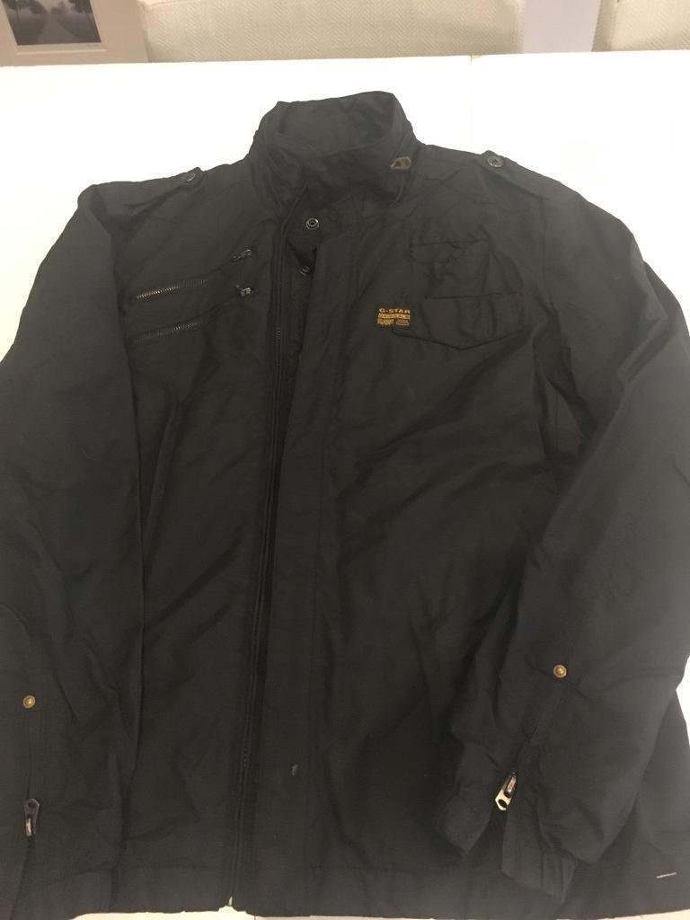 Men's g star lightweight waterproof jacket. Size xl (small fit more like L)