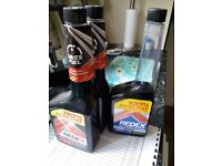2 unopened 500ml bottles of Redex, plus one nearly full (diesel engine fuel additive)