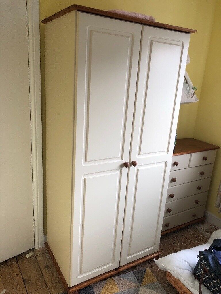 Wardrobe, chest of drawers and side table   in Leicester, Leicestershire    Gumtree