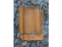 OLD ROOF TILES, BELGIAN PAN, VERY RARE MONOPOL MANUFACTURED, APPROXIMATELY 50 TILES, £25 FOR THE LOT