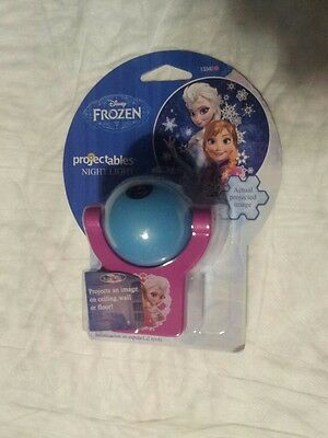 Projectables Disney Frozen LED PlugIn Night Light , Purple and baby Blue