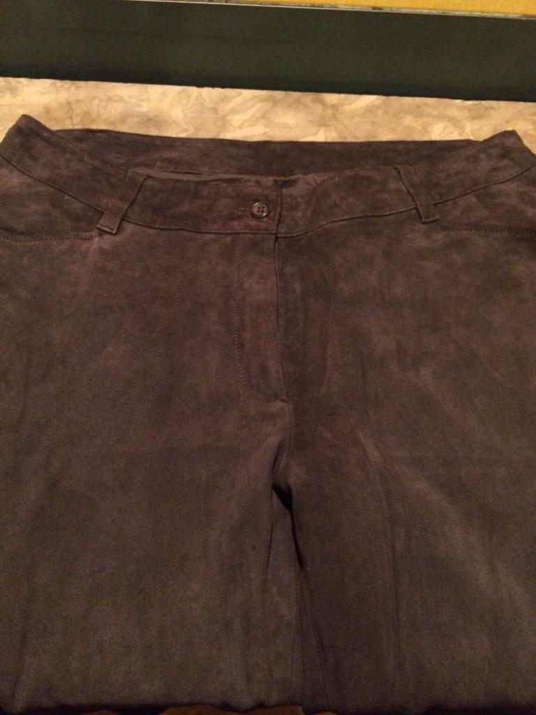Moloh suede Trousers