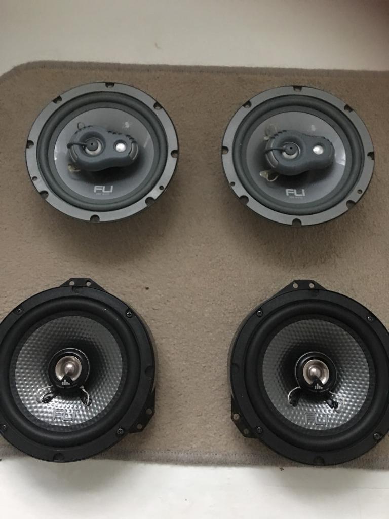 "4x fli speakers 6.5"""