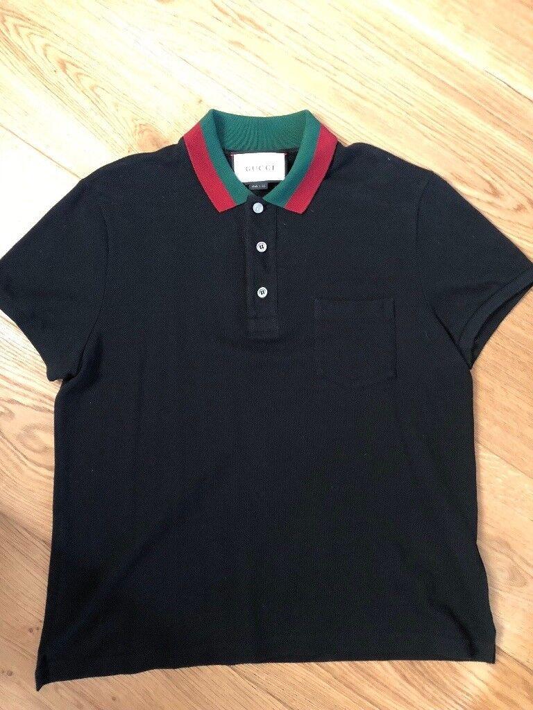 b8aab2e2b00017 100% Genuine Gucci Tshirt - Black Medium. Worn once