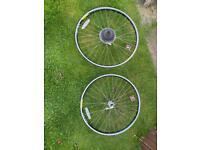 """Retro 26"""" mountain bike wheel set"""
