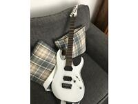 Ibanez iron series electric guitar with Emg active pickups