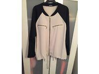 Riber island soft bomber jacket size 20