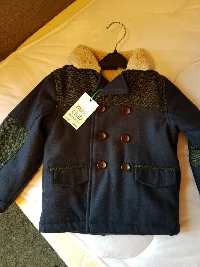 Boys Boots winter coat new with tags aged 2-3