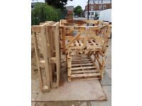 Wooden pallets and crate free