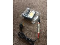 Soldering Iron and Stand - Unused