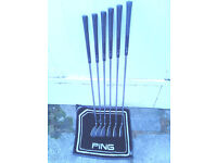 Set of Ping i15 irons (5 to wedge) 6 irons in total.