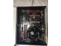 Gigabyte AB350- gaming motherboard w/ AMD Ryzen 1500x CPU