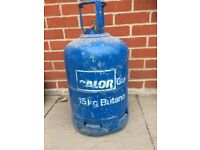 15 kg Blue Calor Gas EMPTY Bottle