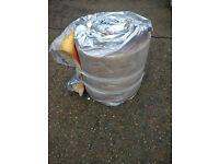 Insulation rolls free