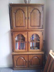 Oak Shelving/ Storage/ display Units/ cupboard
